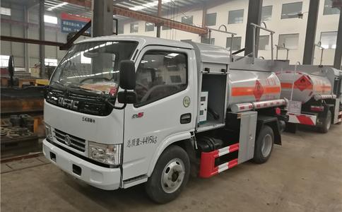 润知星牌SCS5040GJYEQ 2.5方小型汽油加油车蓝牌