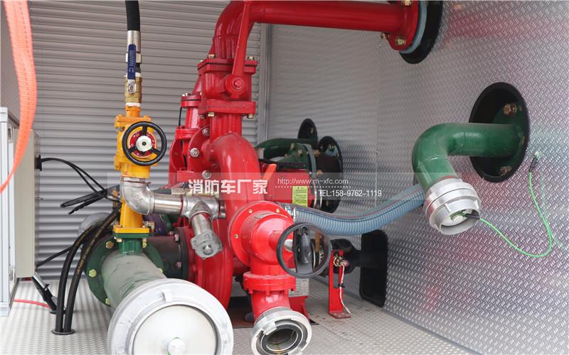 消防车管路系统