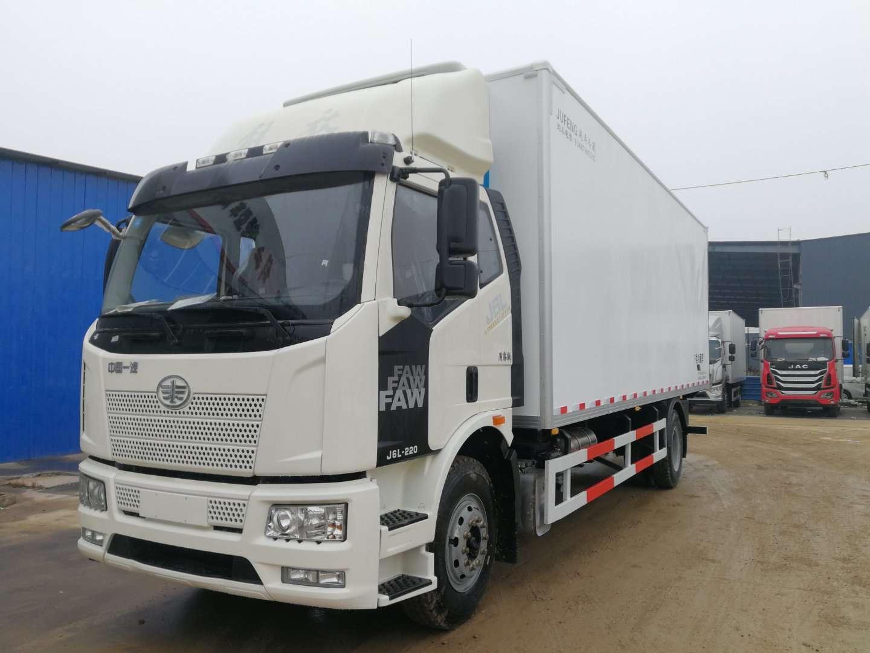18吨7.5解放J6冷藏车图片