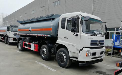 东风天锦6X2 15方氨水运输车|8类腐蚀性物品罐式运输车图片