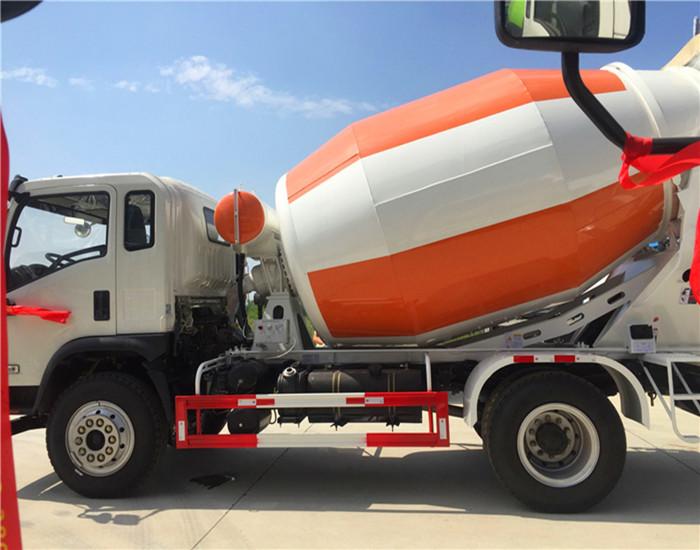 大运运途6-7方混凝土搅拌运输车