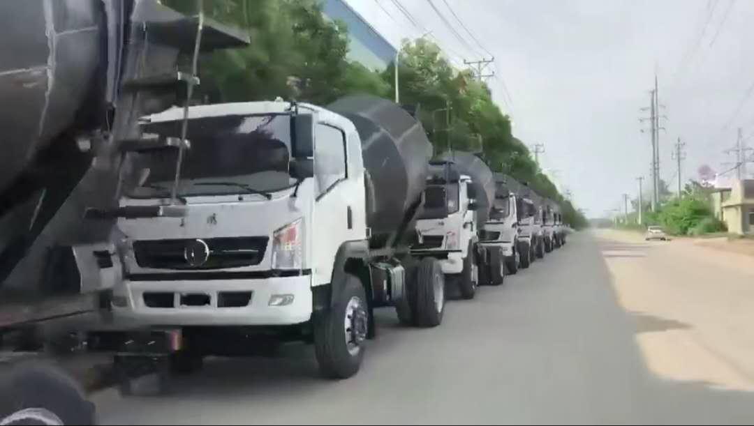 大运运途D912豪华7方搅拌车视频视频