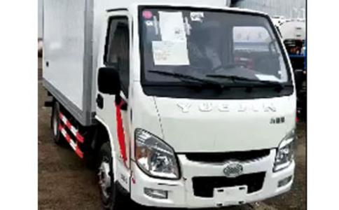 3.2米厢体冷藏车柴油版猪肉运输冷藏车视频