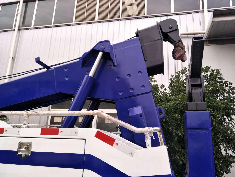 16吨上装解放J6拖吊联体清障车
