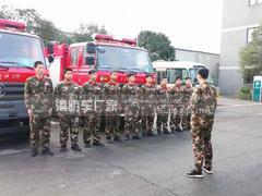 我公司为客户定制东风145水罐消防车正式投入使用