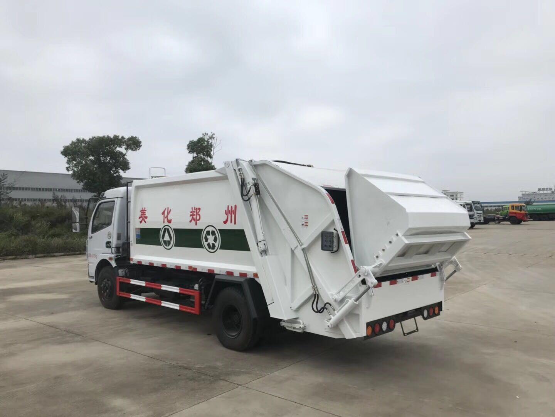 东风天锦12-14方压缩式垃圾车
