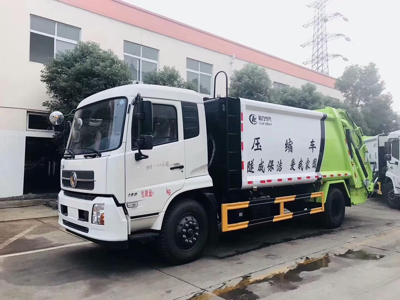 12方东风天锦压缩垃圾车 垃圾车厂家价格报价低