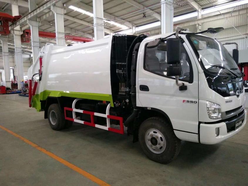 采购12吨天锦压缩式垃圾车价格配置