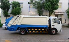 6方压缩式垃圾车哪里有生产优质工艺
