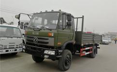 东风4X4 8吨全驱载货车出口|载货车出口厂家欧二欧三排放