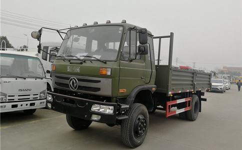 东风4X4全驱载货车厂家|东风8吨越野载货车出口