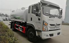 东风专用底盘新款驾驶室10方绿化喷洒车厂家