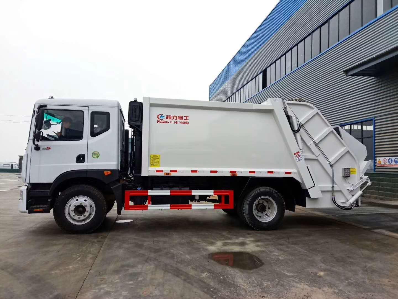 12方压缩垃圾车10吨压缩垃圾车最低价格