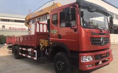 程力8吨随车吊哪里有卖东风T5单桥8吨徐工双联泵吊机质量