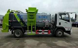 东风5吨6吨环卫餐厨垃圾车 泔水车图片