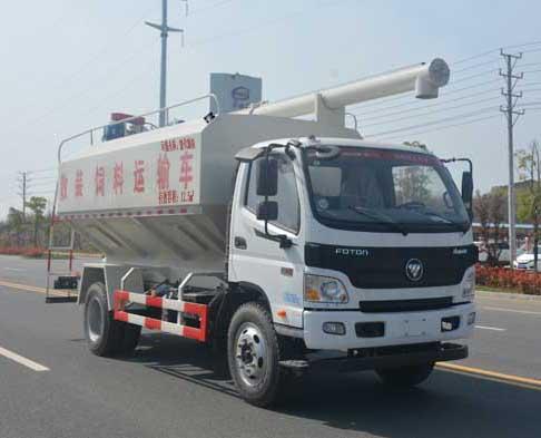 福田歐馬可12.5噸散裝飼料運輸車