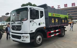 东风D9压缩对接式垃圾车(15方)图片