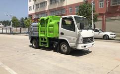 江苏张家港蓝牌3.5吨潲水_泔水_餐厨垃圾车图片