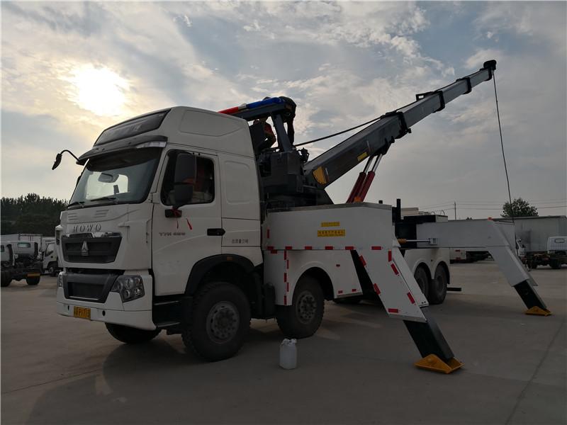 重汽拖吊联体重型清障车 (8)