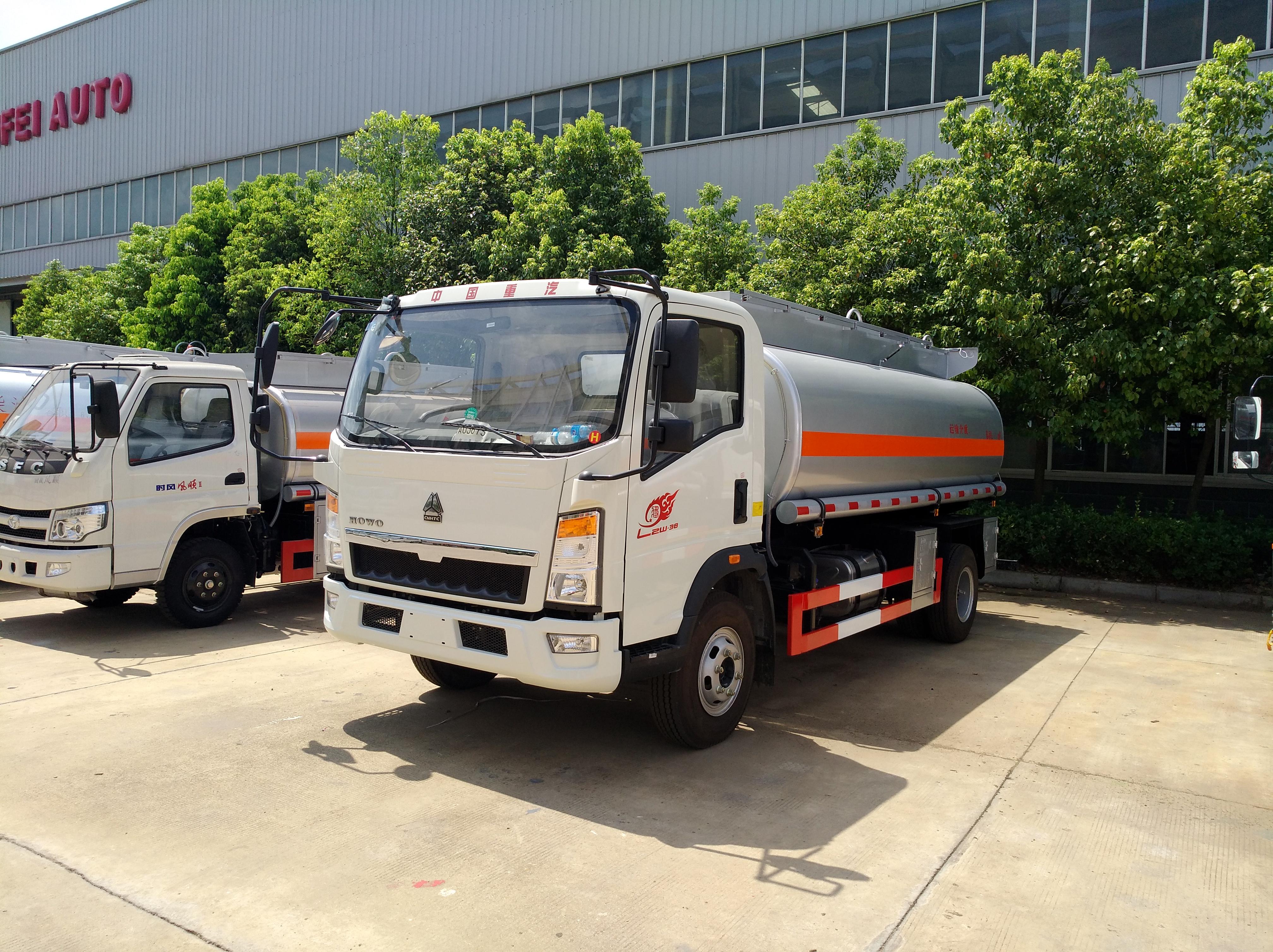 重汽5噸加油車運油車油罐車圖片