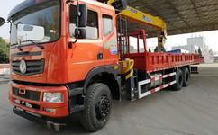 特商后八轮12吨随车吊配置东风T5随车运输车价位