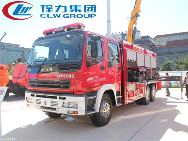 五十鈴搶險救援消防車