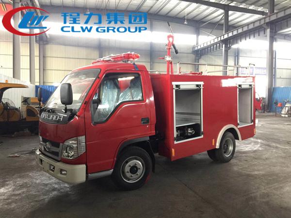 3吨福田3360轴距消防车