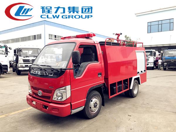 1.5吨福田微型消防车