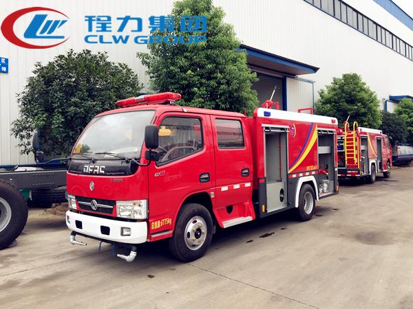 东风2.5吨水罐消防车