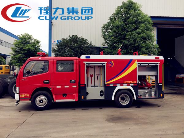 東風2.5噸水罐消防車