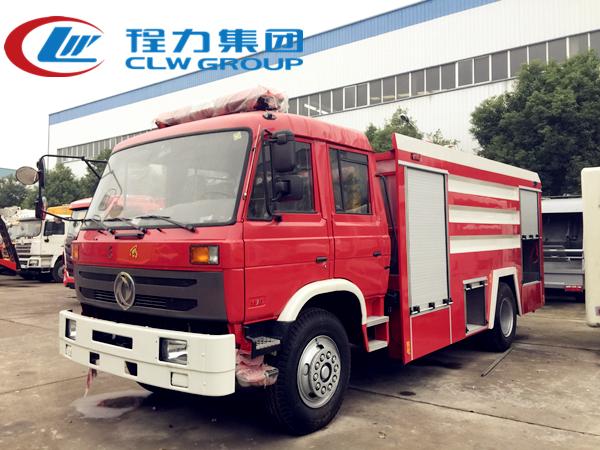 东风8吨水罐消防车