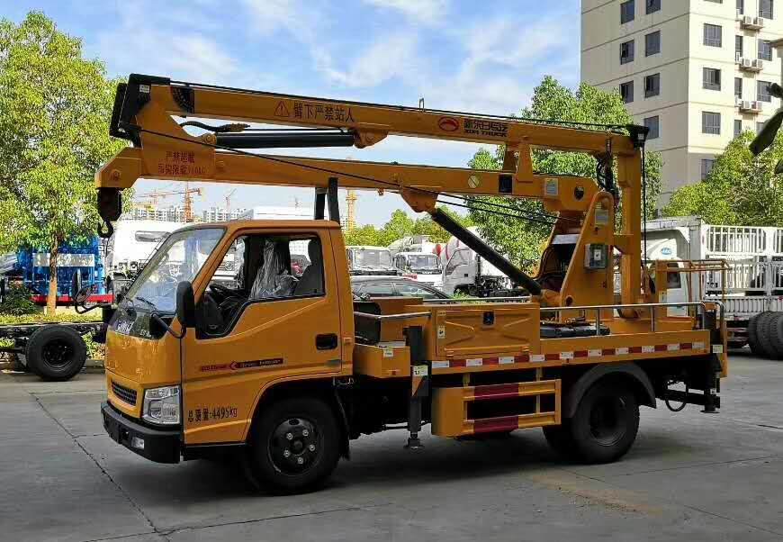 江铃顺达13.5米高空作业车配置价格现车厂家直销