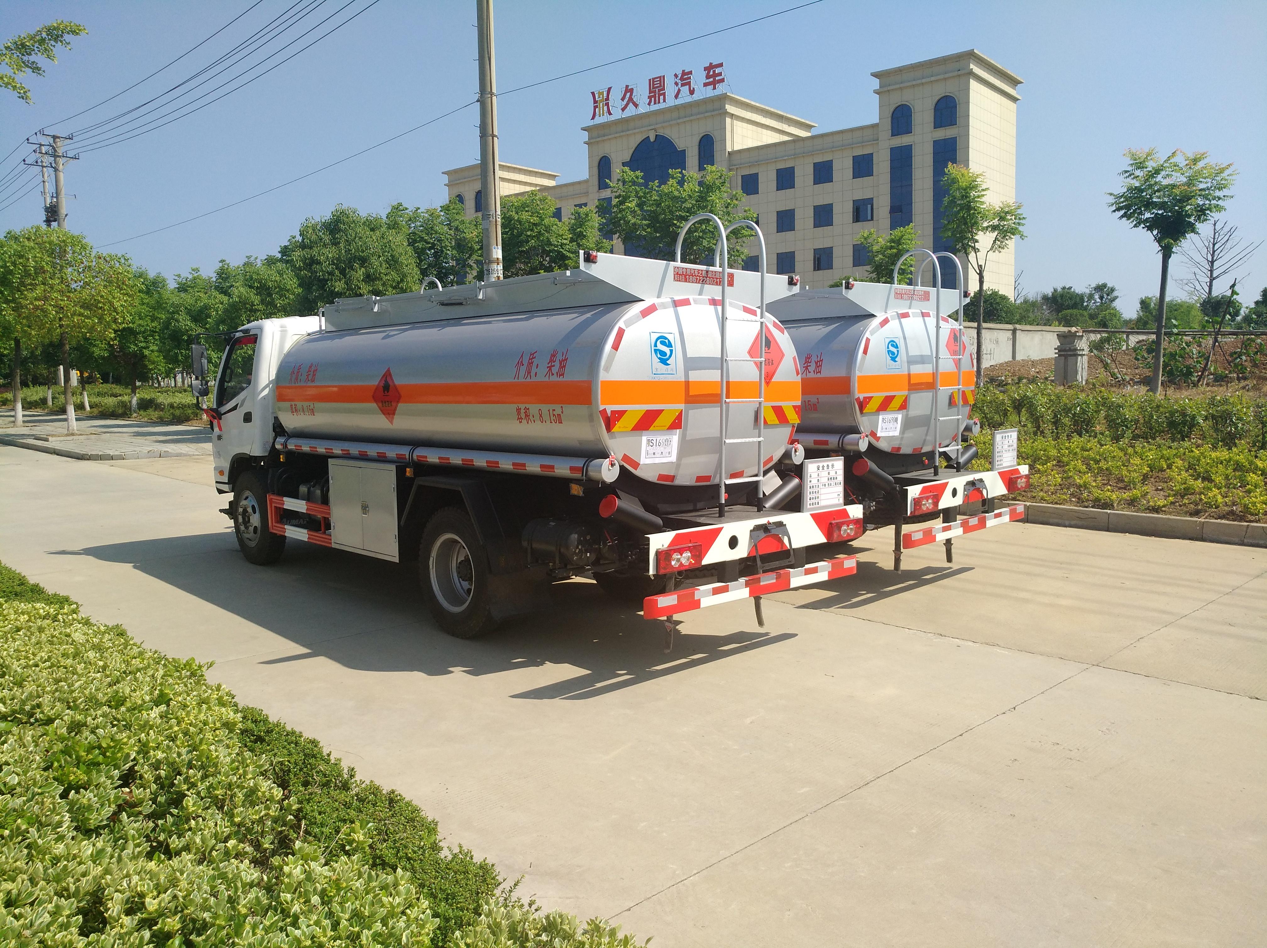 福田歐馬可加油車8噸奧鈴加油車圖片