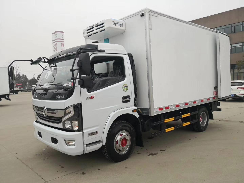 东风凯普特冷藏车,玉柴115马力,箱长4.1米图片
