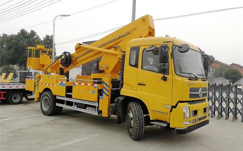 28米高空作业车|东风天锦28米伸缩臂高空作业车视频