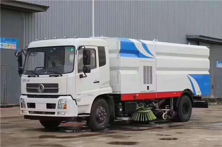 洗扫车10吨洗扫扫路车8吨扫路带洗扫车多少钱