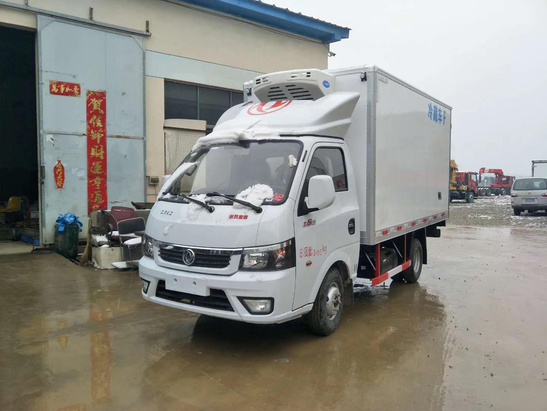 东风途逸3.5米冷藏车图片