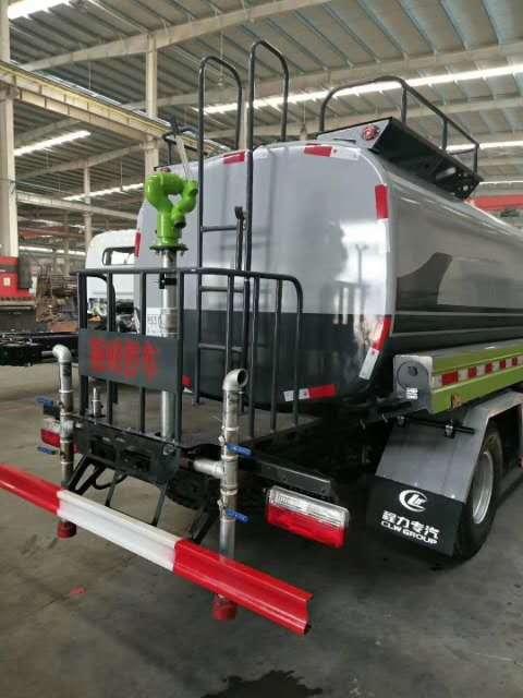 东风5立方洒水车新款水车生产厂家价格
