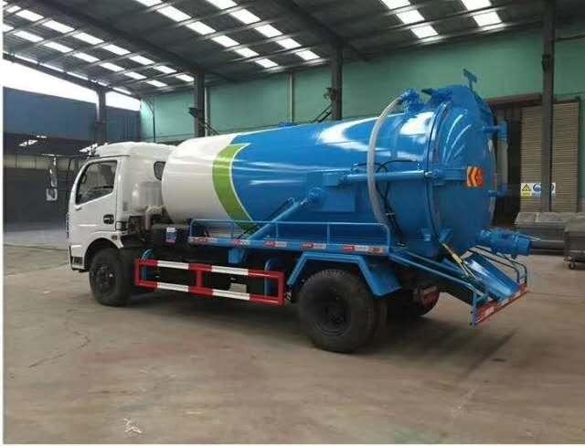 5-10吨吸污车带高压清洗车厂家价格