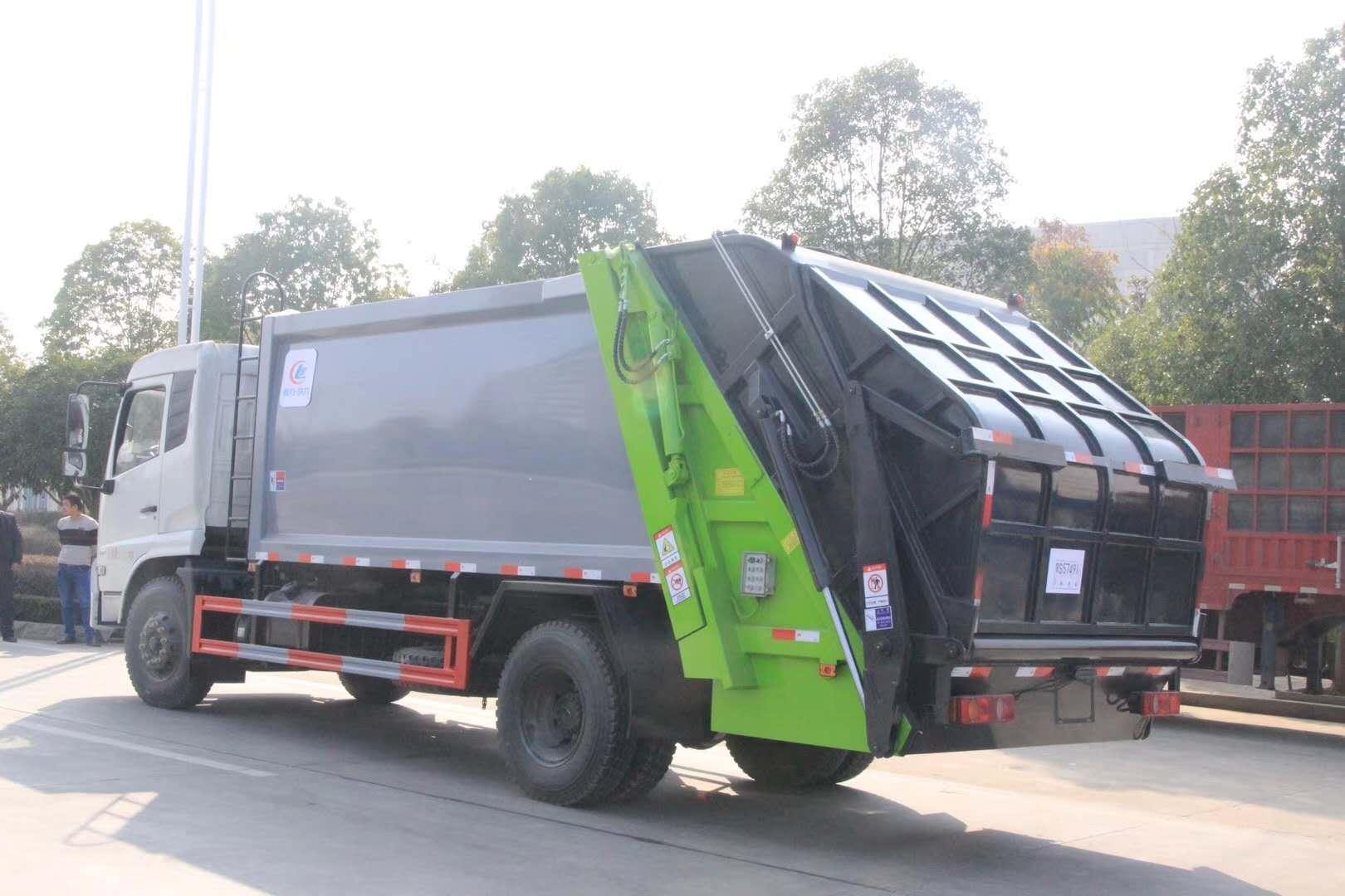 5方–8方压缩垃圾车后装式翻斗压缩垃圾车价格