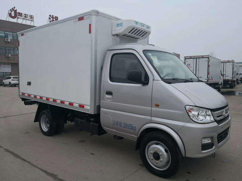 水果保鲜运输车蓝牌冷藏车多少钱