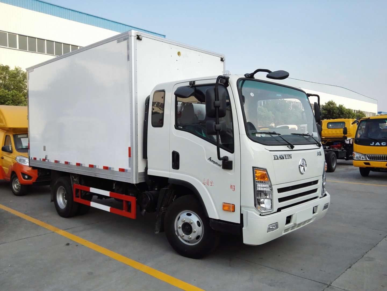 大运4.2米厢长冷藏运输车保温车价格
