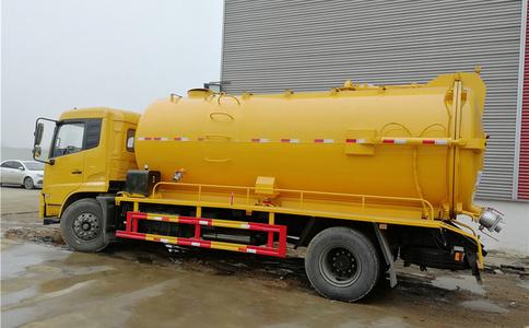 东风天锦4X2大型吸污车厂家直销|大方量吸污车视频