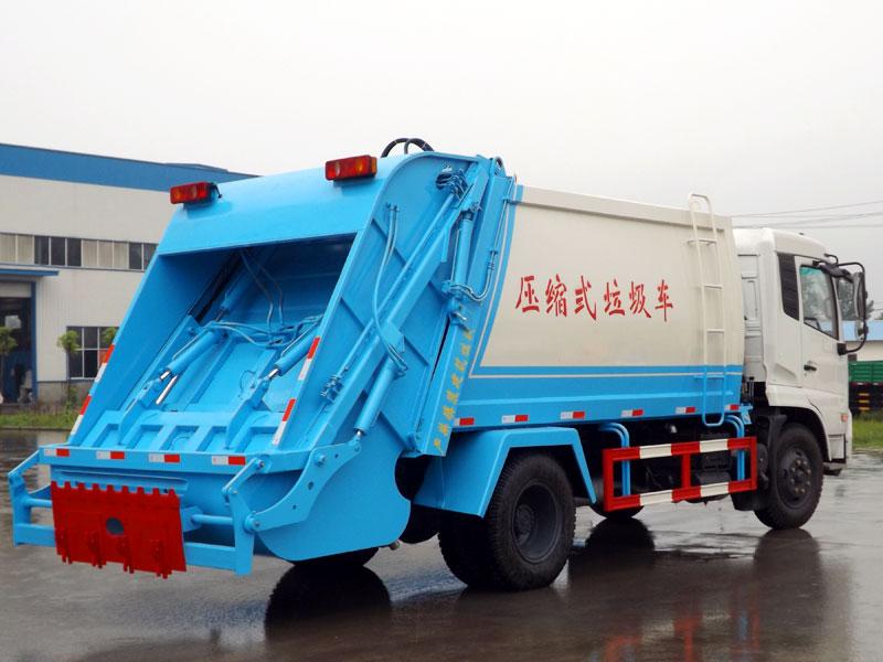 天锦压缩式垃圾车