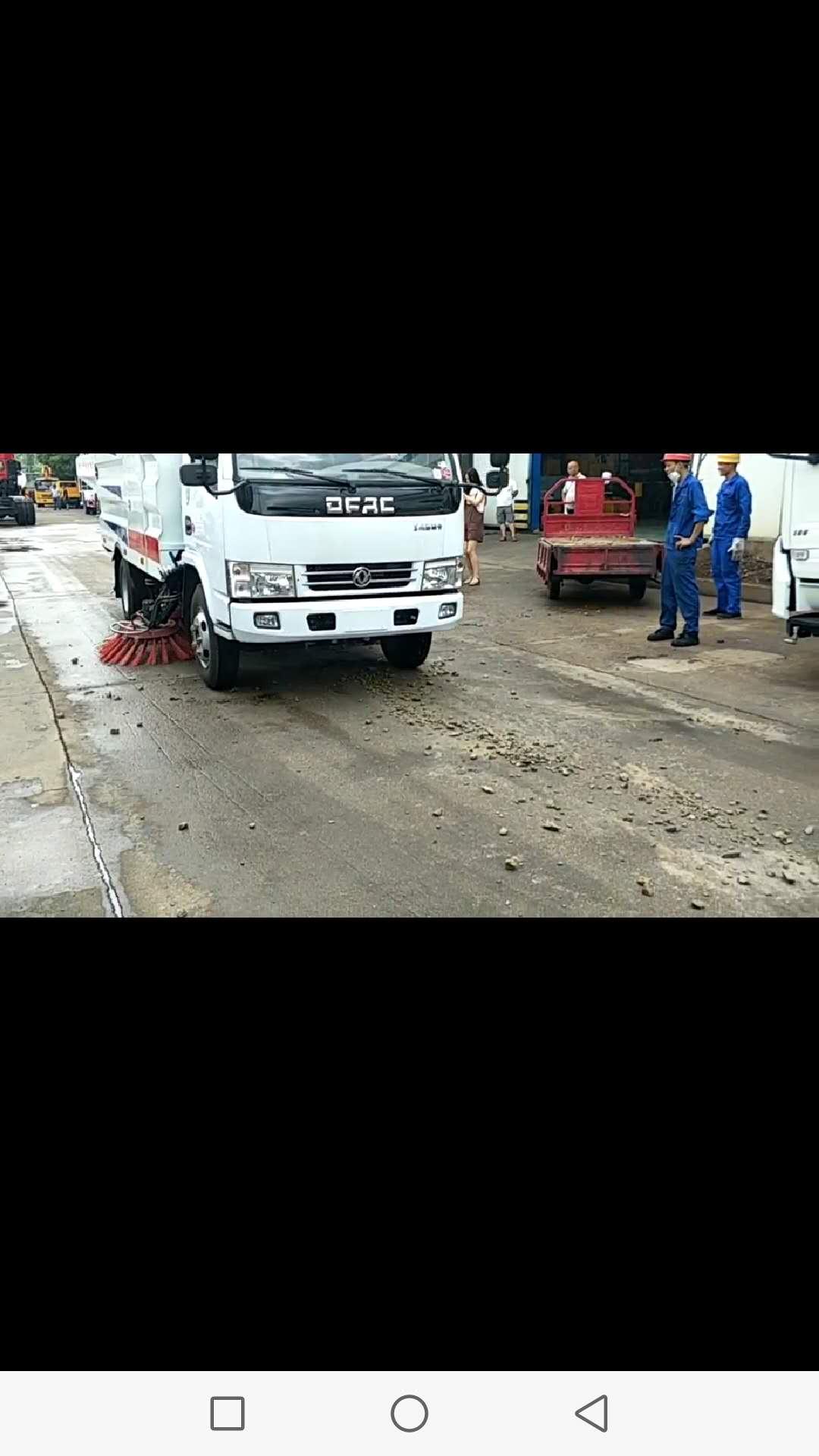 扫路车视频视频