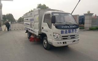 福田小卡CLW5042TSLB5扫路车
