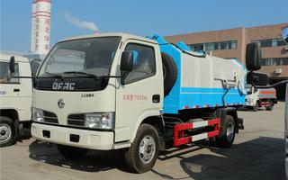 东风多利卡(5方)CLW5070ZDJD5侧装压缩式垃圾车图片