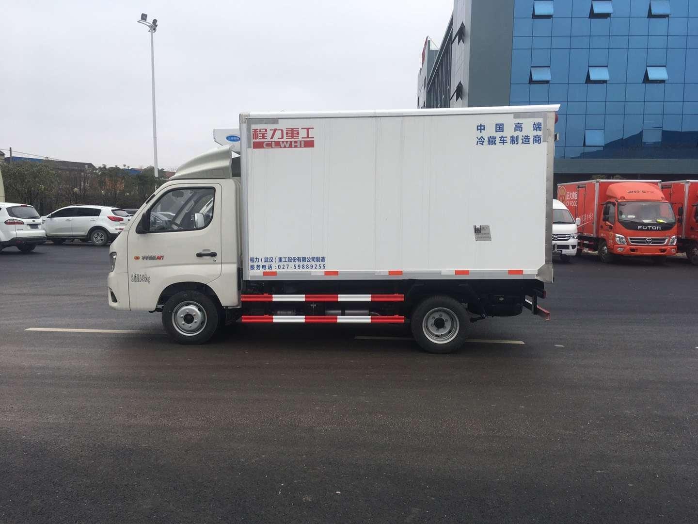 福田冷藏车药品运输冷藏车价格