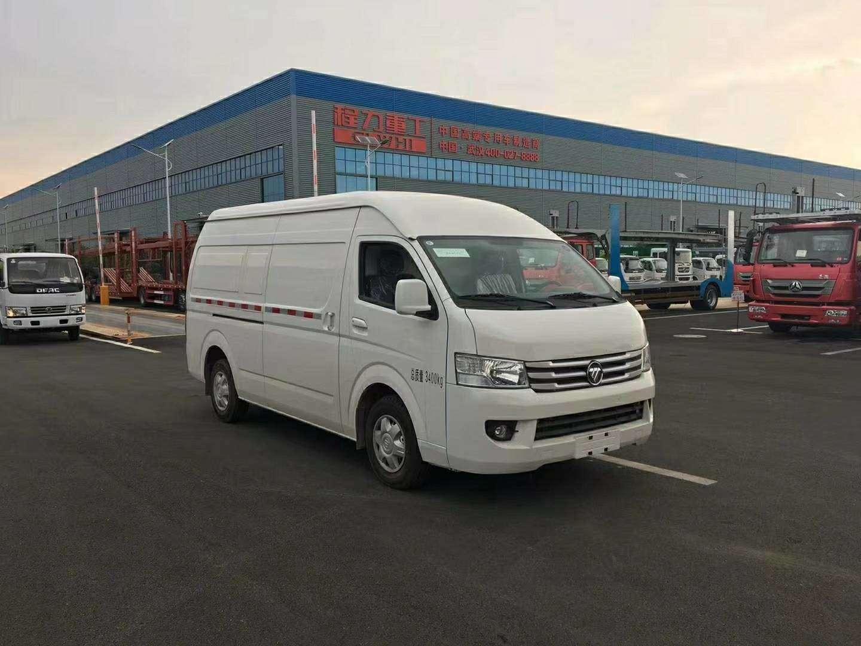 福田G9面包冷藏车保鲜运输车价格
