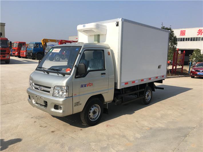 福田驭菱后单轮冷藏车